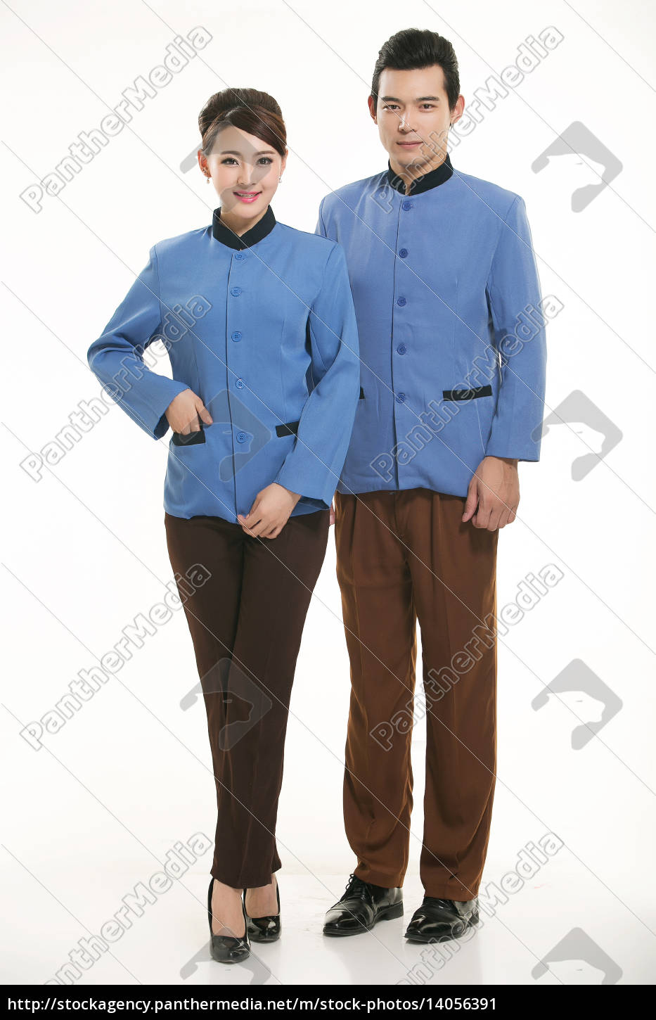 wear, clothing, occupation, chinese, waiters, in - 14056391