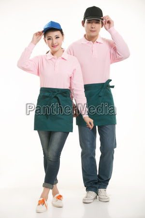 wear, clothing, occupation, chinese, waiters, in - 14056403