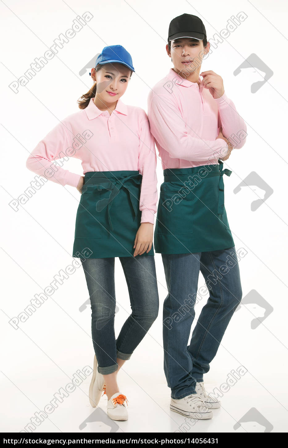 wear, clothing, occupation, chinese, waiters, in - 14056431
