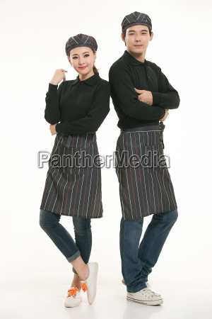 wear, clothing, occupation, chinese, waiters, in - 14056461