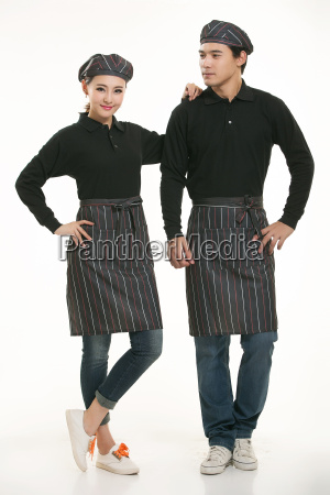 wear, clothing, occupation, chinese, waiters, in - 14056463