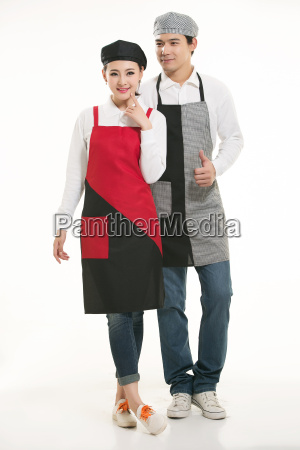 wear, clothing, occupation, chinese, waiters, in - 14056475
