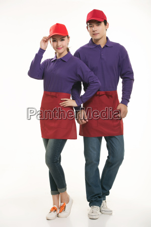 wear, clothing, occupation, chinese, waiters, in - 14056487