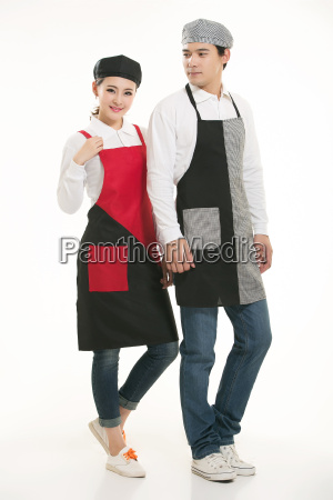 wear, clothing, occupation, chinese, waiters, in - 14056503