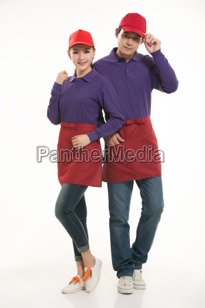 wear, clothing, occupation, chinese, waiters, in - 14056515