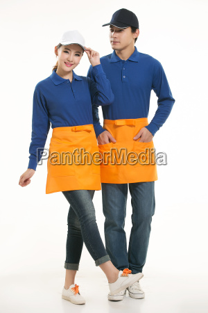 wear, clothing, occupation, chinese, waiters, in - 14056539