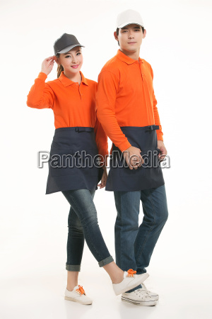 wear, clothing, occupation, chinese, waiters, in - 14056553
