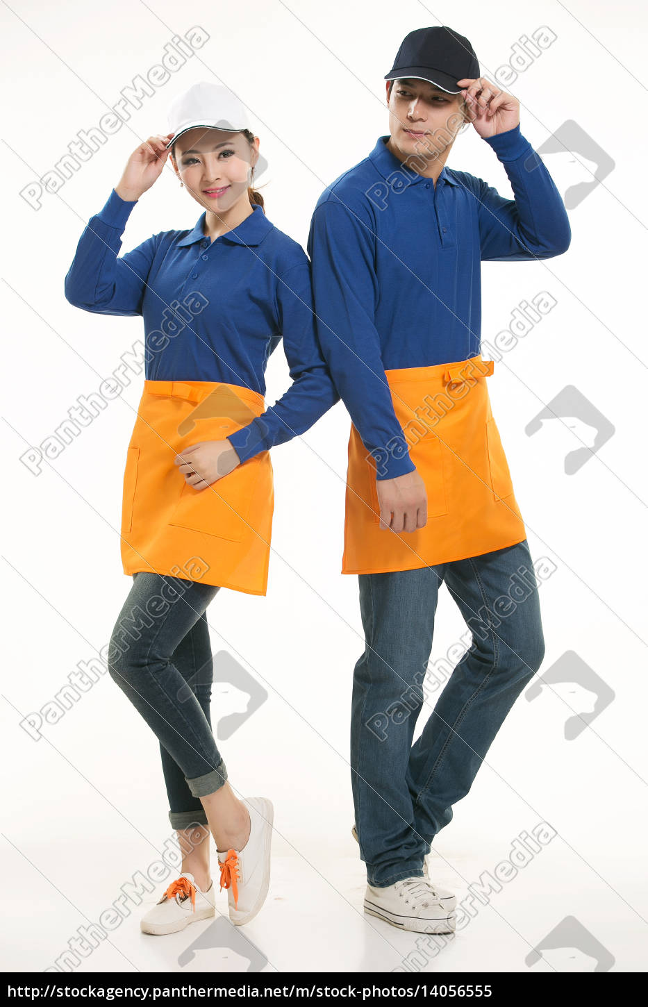 wear, clothing, occupation, chinese, waiters, in - 14056555