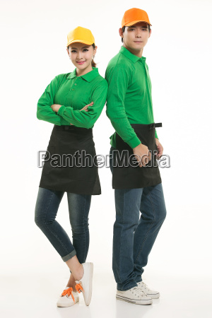 wear, clothing, occupation, chinese, waiters, in - 14056571