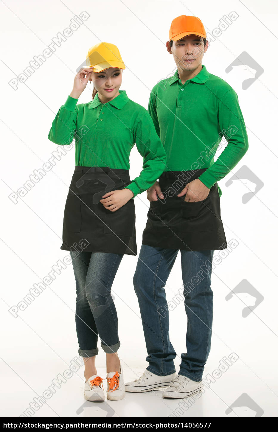 wear, clothing, occupation, chinese, waiters, in - 14056577