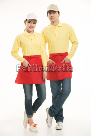 wear, clothing, occupation, chinese, waiters, in - 14056581