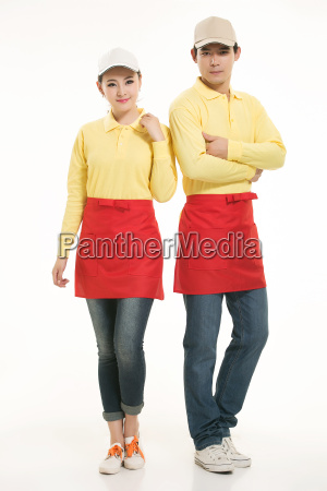 wear, clothing, occupation, chinese, waiters, in - 14056595