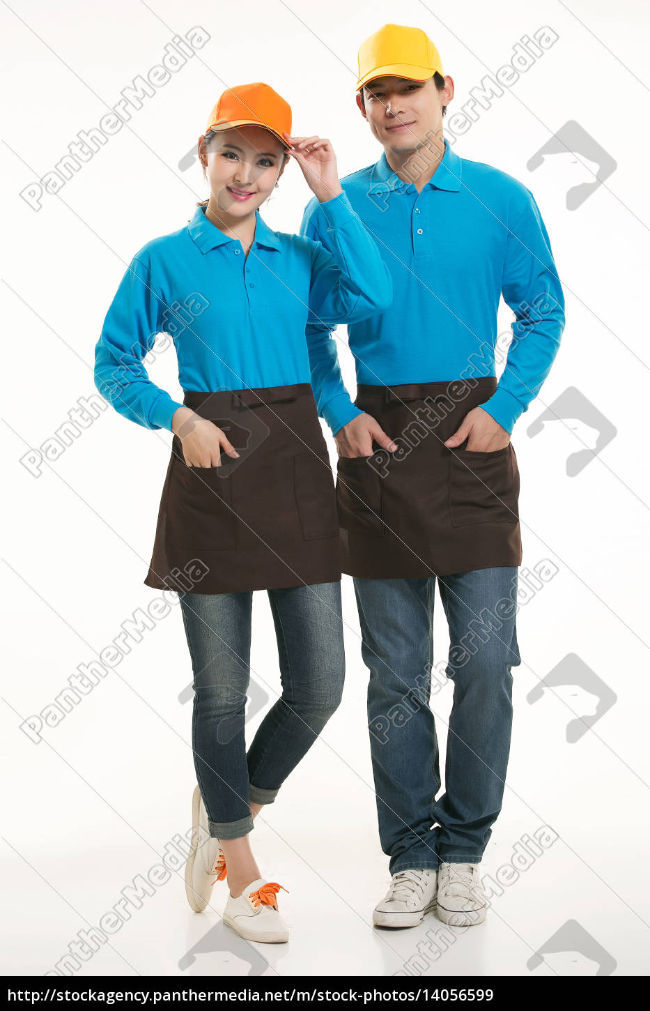 wear, clothing, occupation, chinese, waiters, in - 14056599