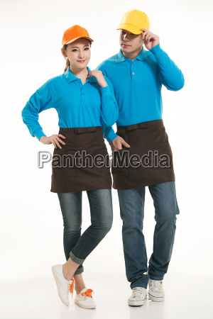 wear, clothing, occupation, chinese, waiters, in - 14056603