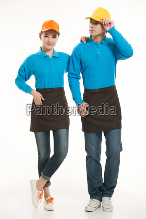 wear, clothing, occupation, chinese, waiters, in - 14056619