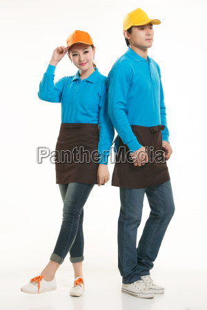 wear, clothing, occupation, chinese, waiters, in - 14056623
