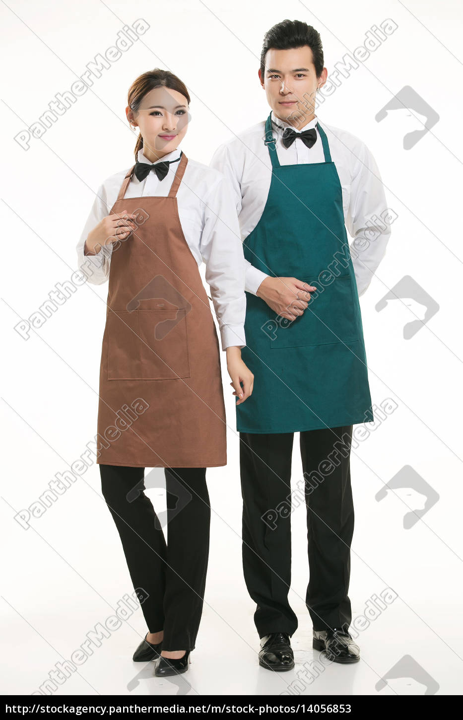 wear, clothing, occupation, chinese, waiters, in - 14056853