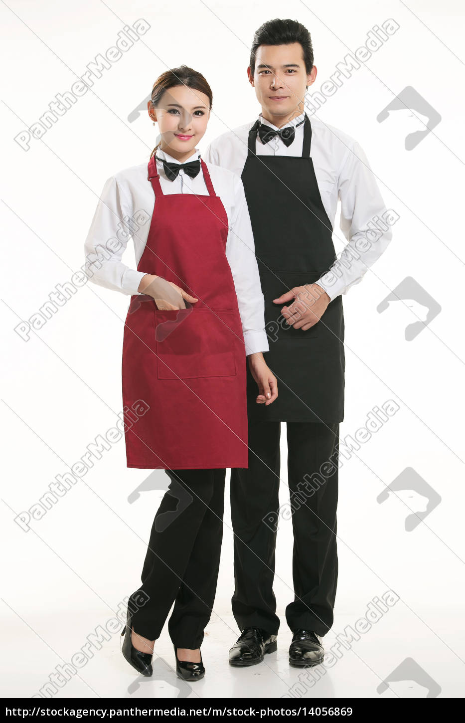 wear, clothing, occupation, chinese, waiters, in - 14056869