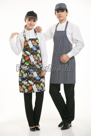 wear, clothing, occupation, chinese, waiters, in - 14056923