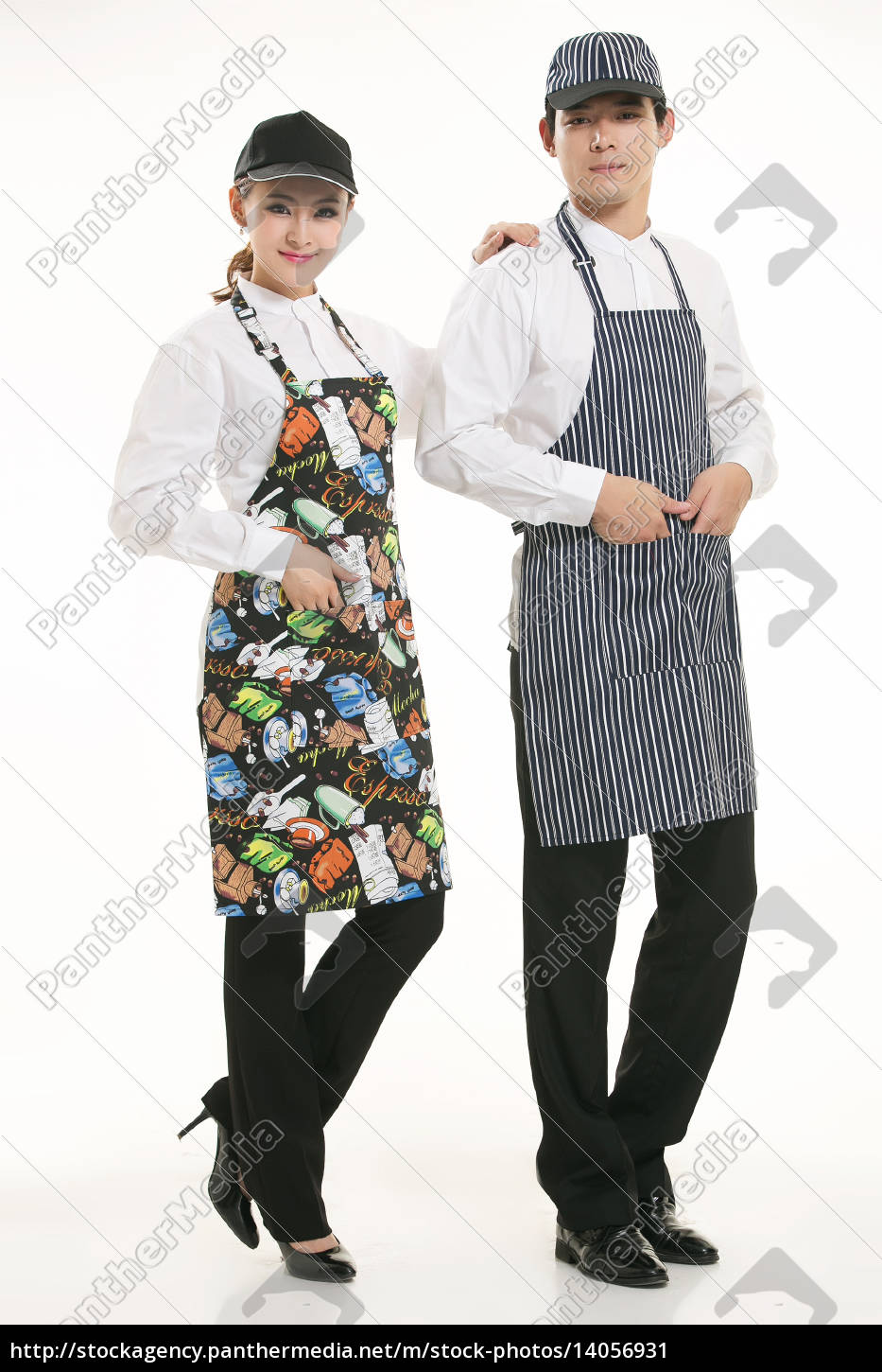 wear, clothing, occupation, chinese, waiters, in - 14056931