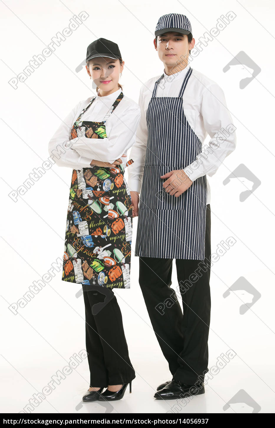 wear, clothing, occupation, chinese, waiters, in - 14056937