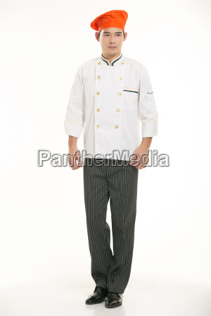 wearing, all, kinds, of, clothing, chef - 14056951