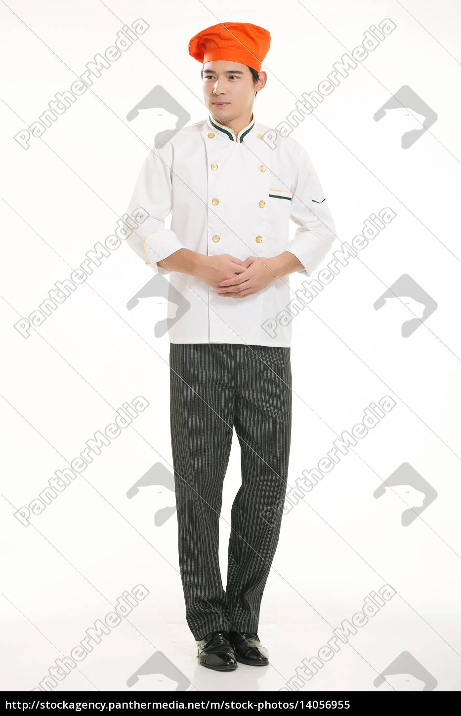 wearing, all, kinds, of, clothing, chef - 14056955