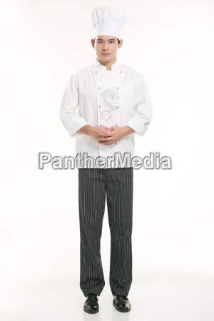 wearing, all, kinds, of, clothing, chef - 14056977