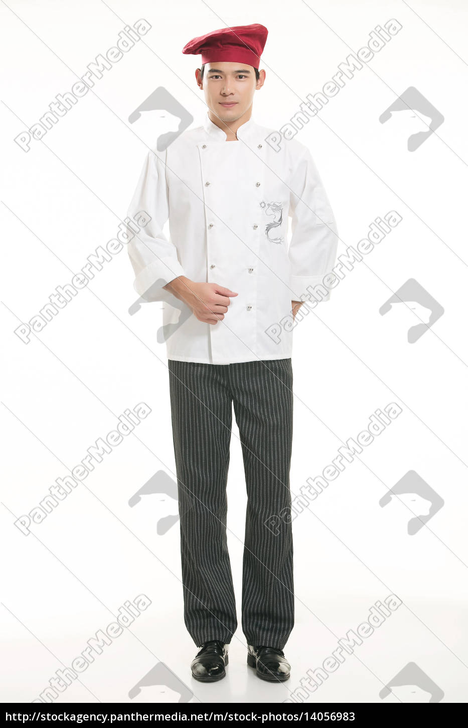 wearing, all, kinds, of, clothing, chef - 14056983
