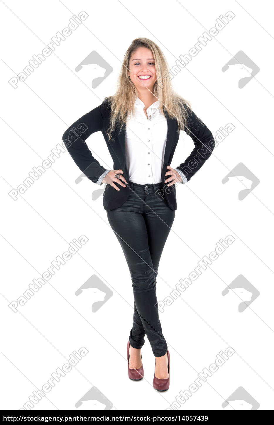 young, businesswoman - 14057439