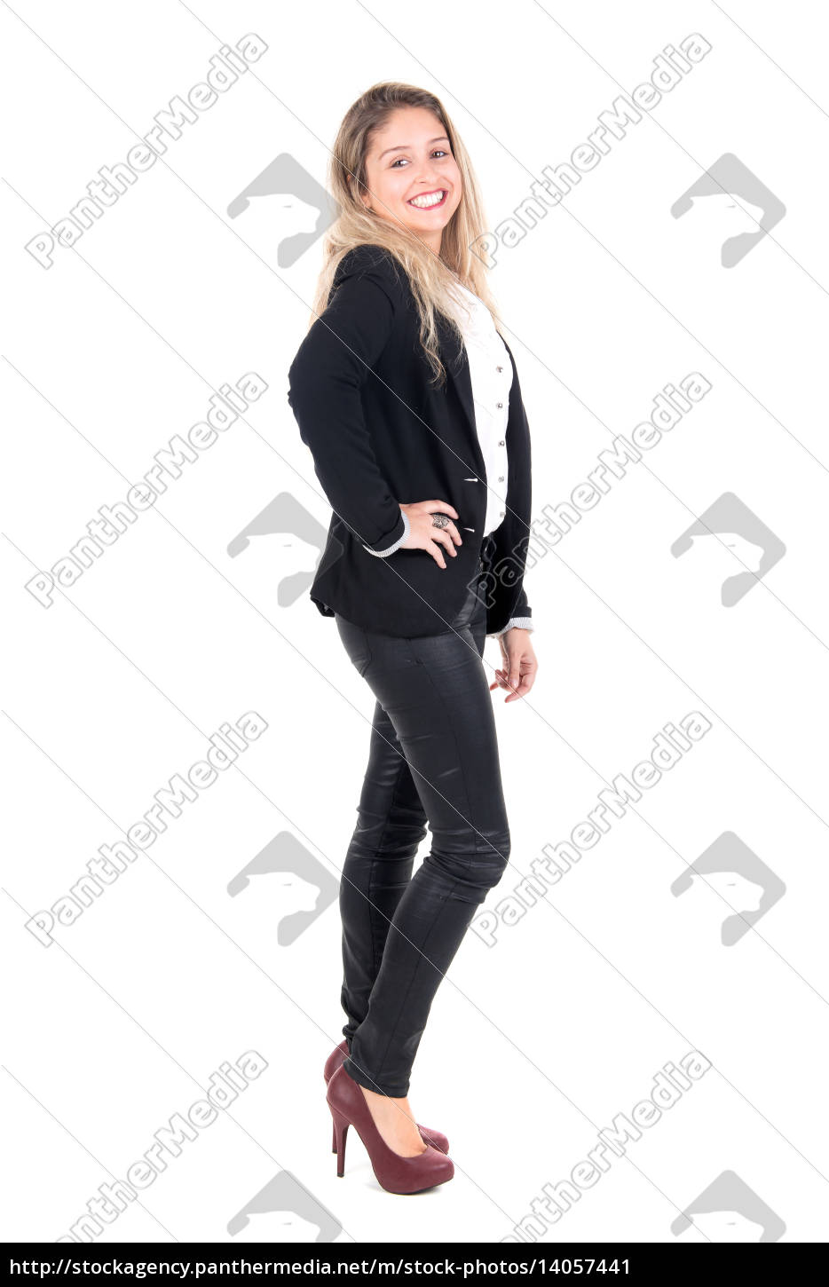 young, businesswoman - 14057441