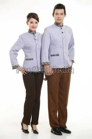 beautiful, beauteously, nice, asia, waitress, black - 14058353