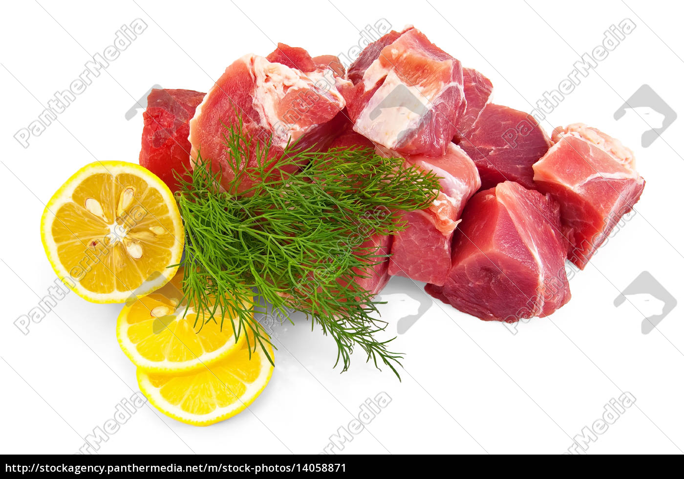 pork, with, lemon, and, dill - 14058871