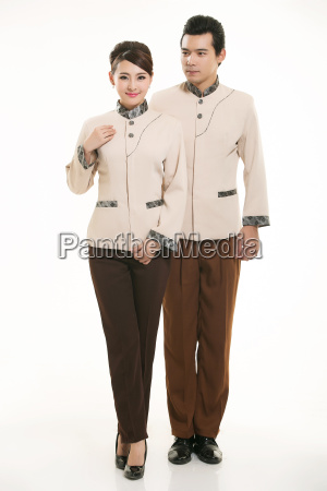 wear, clothing, occupation, chinese, waiters, in - 14058327