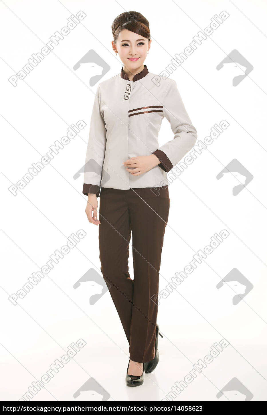 wear, clothing, occupation, chinese, waiters, in - 14058623