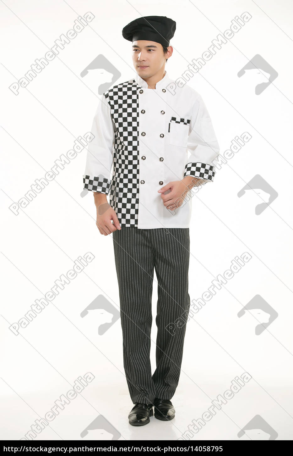 wear, clothing, occupation, chinese, waiters, in - 14058795