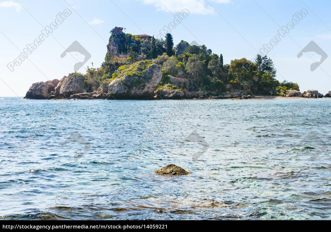 island, isola, bella, near, taormina, resort, - 14059221