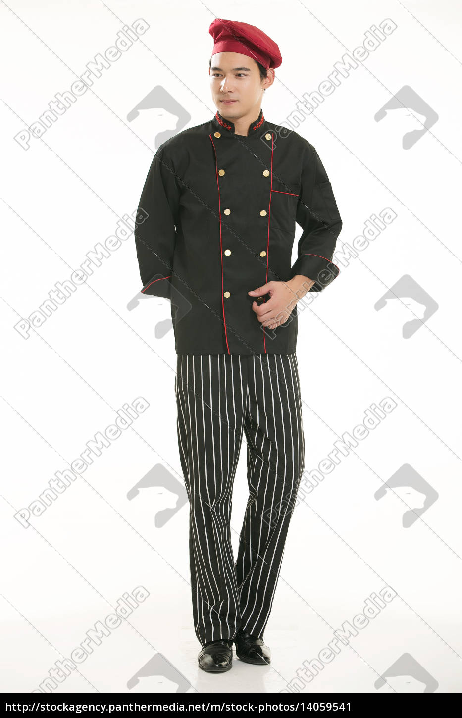 wear, clothing, occupation, chinese, waiters, in - 14059541