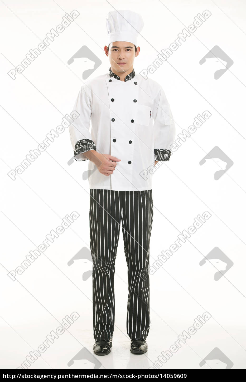 wearing, all, kinds, of, clothing, chef - 14059609