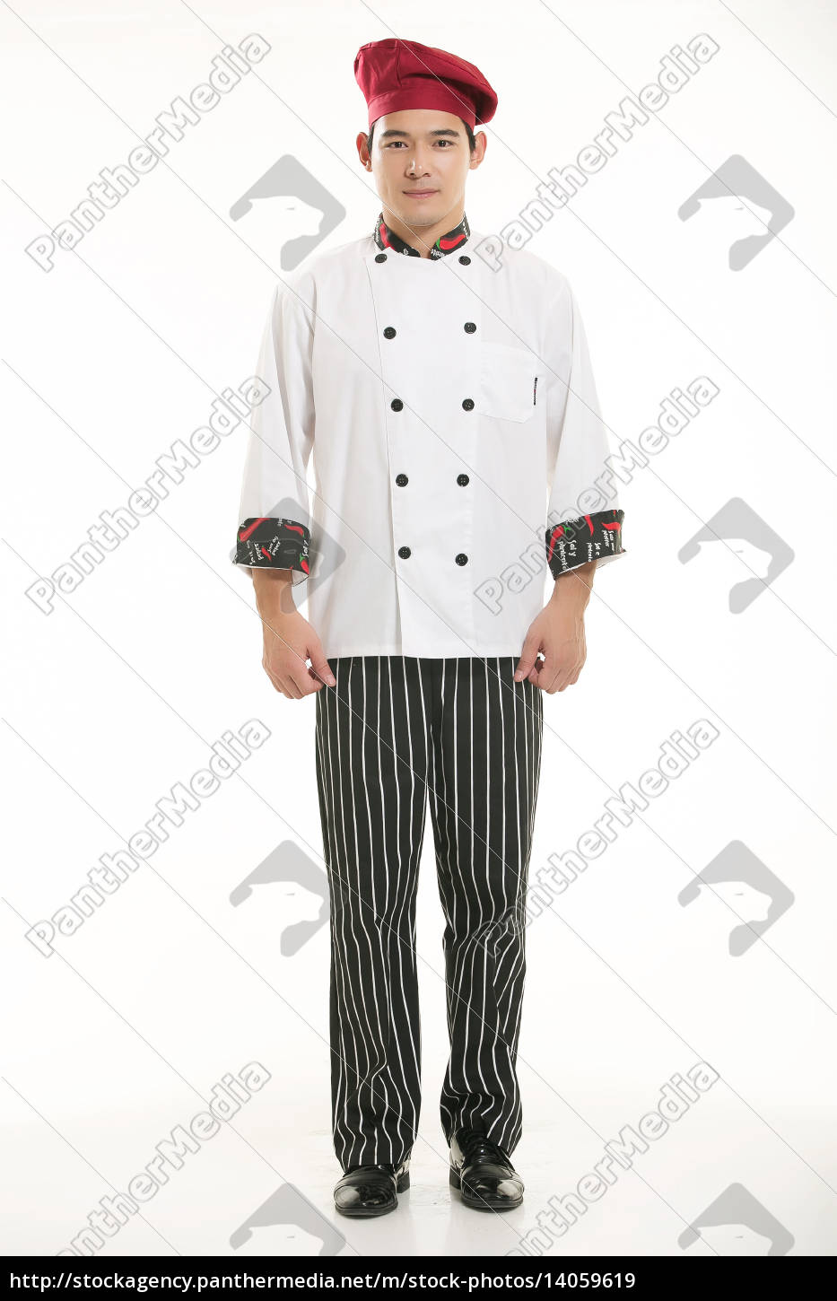 wearing, all, kinds, of, clothing, chef - 14059619