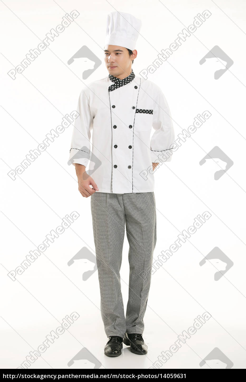 wearing, all, kinds, of, clothing, chef - 14059631