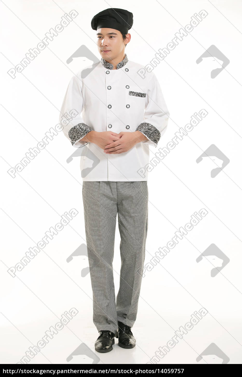 wearing, all, kinds, of, clothing, chef - 14059757