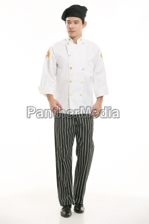 wearing, all, kinds, of, clothing, chef - 14060289