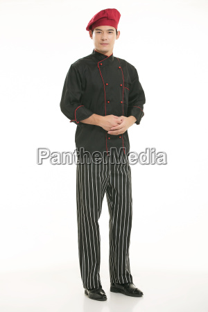 wearing, all, kinds, of, clothing, chef - 14060337