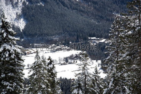 krimml, pinzgau, austria - 14061855