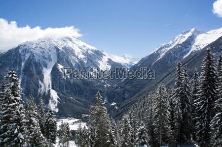krimmler, waterfalls, pinzgau, austria - 14061841