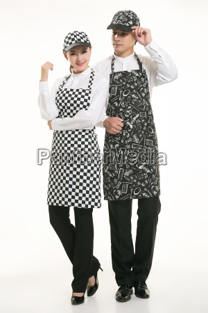 wear, clothing, occupation, chinese, waiters, in - 14061095