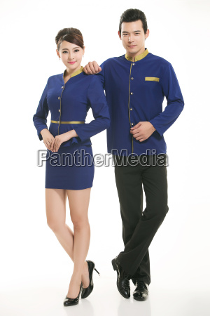wear, clothing, occupation, chinese, waiters, in - 14061287