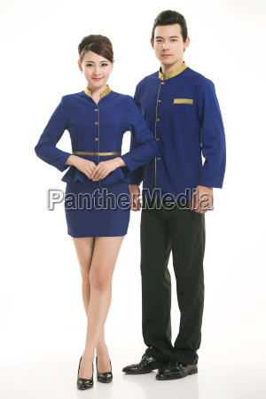 wear, clothing, occupation, chinese, waiters, in - 14061293
