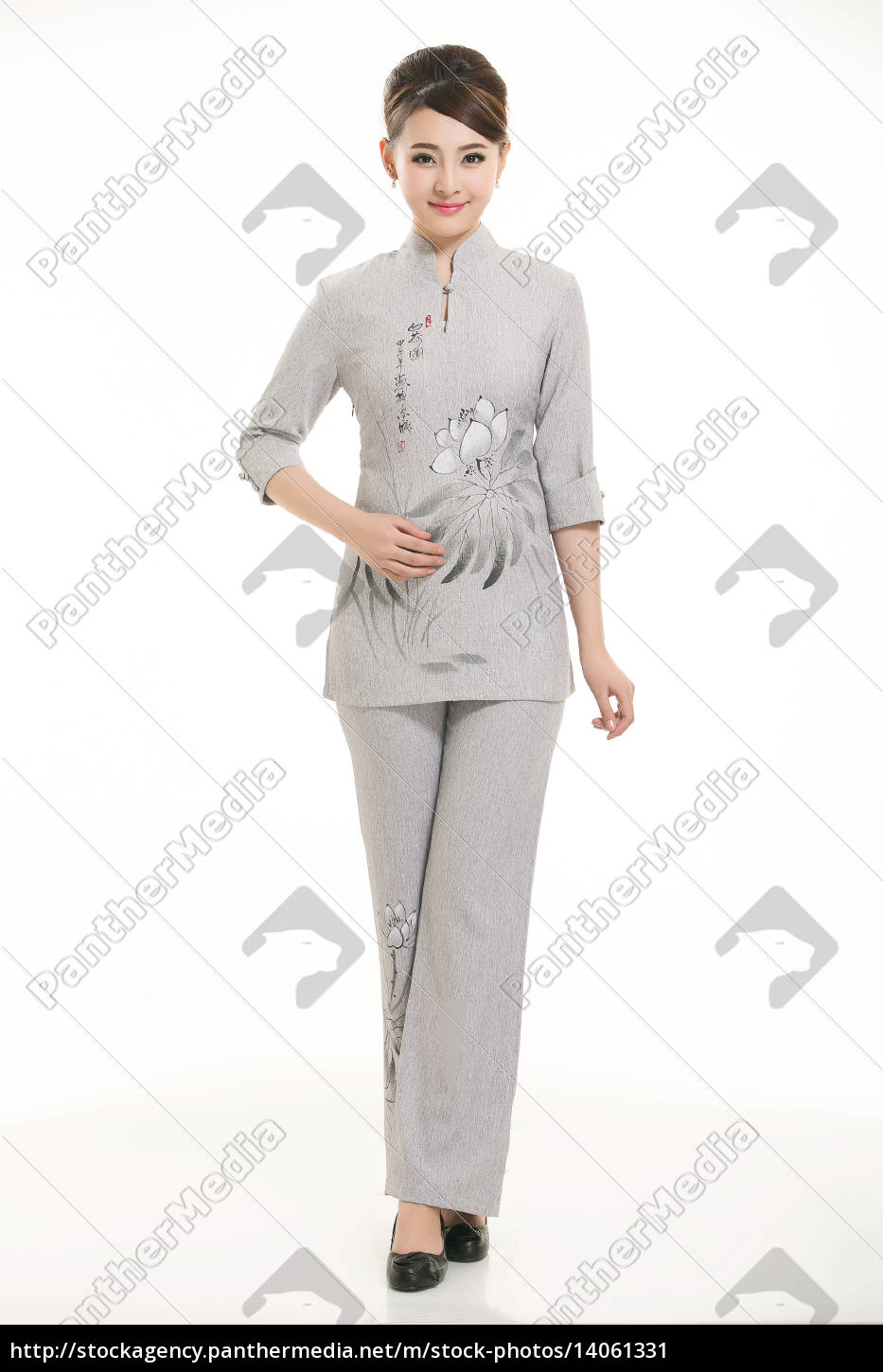 wear, clothing, occupation, chinese, waiters, in - 14061331